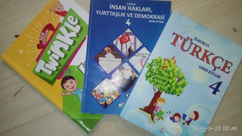 учебники за 4 класс в государственных школах Турции