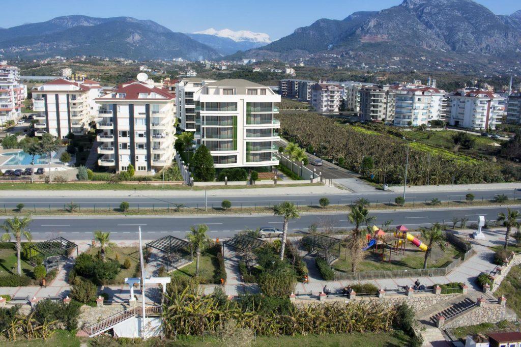 обзор района Кестель, алания, Турция